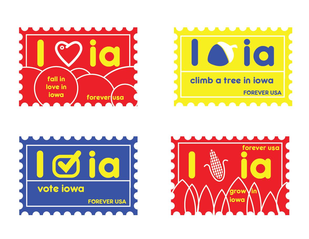Iowa stamps