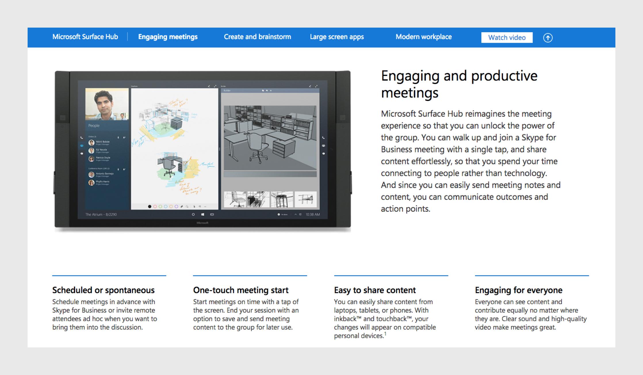 Microsoft Hub content module